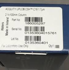 Купить For Waters 186005297 UPLC CSH Column C18 100x2.1 ...