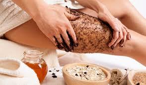 Scrub σώματος για την καταπολέμηση της κυτταρίτιδας