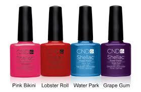<b>cnd shellac</b>™ introduces the <b>summer</b> splash collection