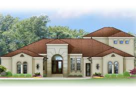 ePlans Spanish Revival House Plan   Southwest Mission Style    Front  EP
