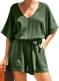 Dokotoo Womens Casual Solid V Neck Short Sleeve ... - Amazon.com