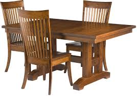 Trestle Dining Room Sets Dining Wooden Chairs Designs All New Home Design