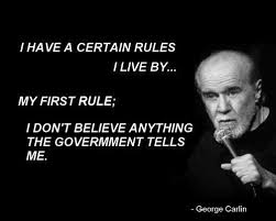 George Carlin Quotes Government. QuotesGram via Relatably.com