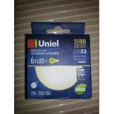 Отзывы о Светодиодная <b>лампа Uniel</b> GX53 <b>LED</b> Lamp