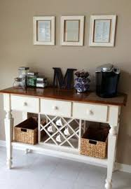 bakers rack coffee syrups and coffee on pinterest attractive coffee bar home 4