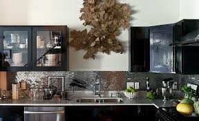 view in gallery stainless steel mosaic backsplash makes a unique visual statement in the modern kitchen design architecture kitchen decorations delightful pendant kitchen