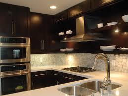kitchen backsplash ideas with dark cabinets impressive kitchen backsplash with dark cabinets homes minoo in kitche