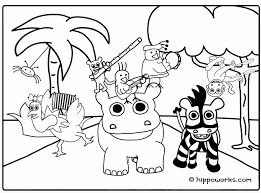 Small Picture Jungle Animal Coloring Pages Coloring Pages