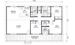 Bedroom House Plans Australia  and Bedroom Kit Homes   Castoff Bedroom House Plans Australia