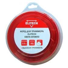 <b>Леска</b> и ножи для <b>триммеров ELITECH</b> — купить на Яндекс ...