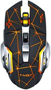 T-Wolf Q13 Electronic Mouse, Rechargeable Wireless ... - Amazon.com