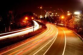 Nacht auf der Autobahn - Bild \u0026amp; Foto von Stephan Walochnik aus ... - Nacht-auf-der-Autobahn-a24154734