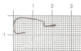 <b>Крючок Crazy Fish Offset</b> Joint Hook OJH-10, арт. OJH-10 – купить ...