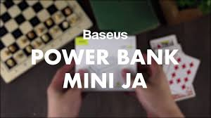 OMG - <b>POWER</b> YOU CAN <b>BANK</b> ON! Baseus <b>Mini</b> JA <b>10,000 mAh</b> ...
