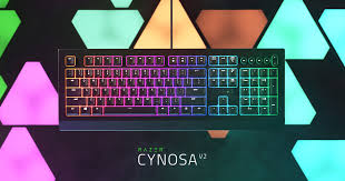 Chroma RGB Backlit Keyboard - <b>Razer Cynosa</b> V2