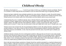 childhood obesity essay introduction   essay structureobesity the pas to blame opinion essay  persuasive essay on childhood obesity