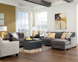 beautiful l shaped sofa design feature grey comfy fabric with white stripe cushion and beige beautiful beige living room grey sofa