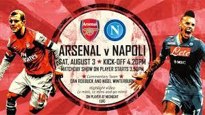 Arsenal 2-2 Napoli