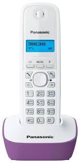 радиотелефон panasonic kx tg1611 ruf purple