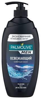 <b>Гель для душа и</b> шампунь Palmolive Men Освежающий Северный ...