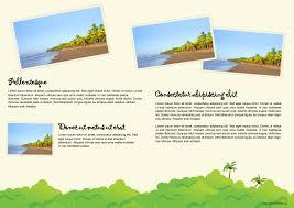 brochure holiday brochure template best of holiday brochure template medium size