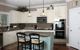 painted kitchen cabinets vintage cream: picture of feminine painting kitchen cabinets white style feat dark wooden cabinet