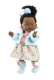 <b>Кукла Llorens Валерия африканка</b> 28 см L 28025 — купить по ...
