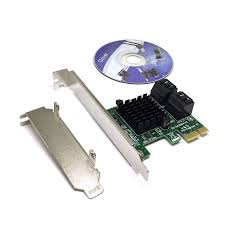 PCIe4SATA3ASM, <b>Контроллер</b> PCI-E, 4 внутр порта <b>SATA</b> 6G, чип ...