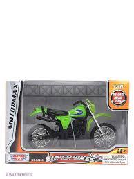 """Коллекционная <b>модель мотоцикла</b> """"Kawasaki KDX250"""" Motormax ..."""