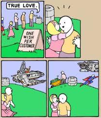 FunniestMemes.com - Funny Memes - [True Love. One Wish Per Customer] via Relatably.com