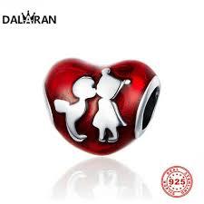 DALARAN <b>New</b> Fashion Boutique <b>S925 Silver Green</b> Plum Red ...
