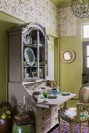secretary desks home office traditional with beige secretary desk board and batten fabric artwork globe chandelier blue brown home office