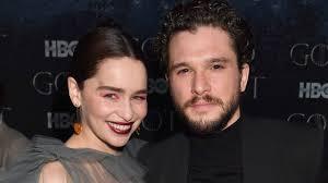 <b>Emilia</b> Clarke's <b>Game of Thrones</b> Reunion Brought Jason Momoa and
