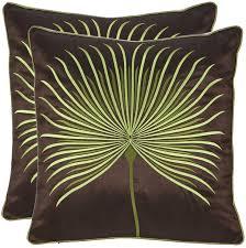 amazoncom safavieh pillow collection inch dandelion pillow