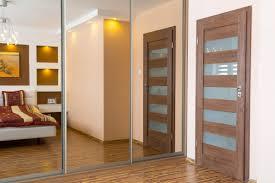 doors closets admirable design mirrored closet door
