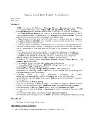resume examples qa analyst sample resume software quality qa entry quality assurance resume
