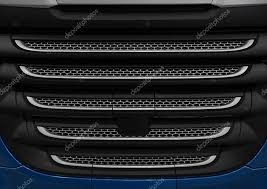 Close up truck cabin radiator cover with <b>grid grille</b>. <b>Car</b> radiator <b>grille</b> ...
