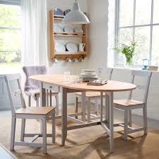 dining room sets ikea: a traditional dining room with gamleby gate table and chairs in pine wood and grey