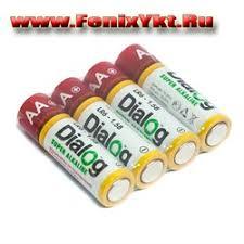 Dialog LR6-4S - щелочные батарейки АА, 4шт в ... - Феникс