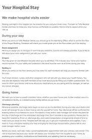 website content est creative tufts medical center website