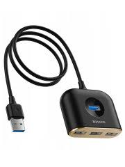 <b>Хаб Baseus Square</b> round 4 in 1 <b>USB</b> HUB Adapter (USB3.0 to ...