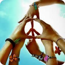 Resultado de imagem para paz e amor