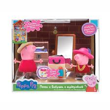 """Свинка Пеппа. <b>Игровой набор</b> """"<b>Пеппа</b> и Бабушка в гардеробной ..."""