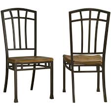 cottage dining chair set rear