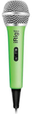 Купить вокальный <b>микрофон IK Multimedia</b> iRig Voice (Green) в ...