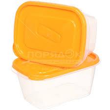 Набор <b>контейнеров пищевых пластмассовых Good&Good</b> SREC ...