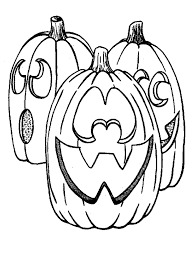 Small Picture Halloween Pumpkin Coloring Pages 6 Purple Kitty