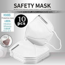 10PCS N95/FFP2 Antivirus Mask Particulate Respirator Mask ... - Vova