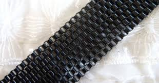 Black Venetian Box Chain <b>Stainless Steel</b> Chain Colored by vess65 ...