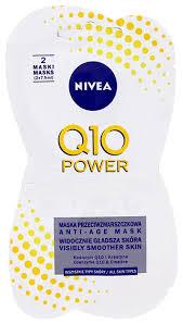 <b>Антивозрастная маска для лица</b> Nivea Q10 Power Anti-Age Mask ...